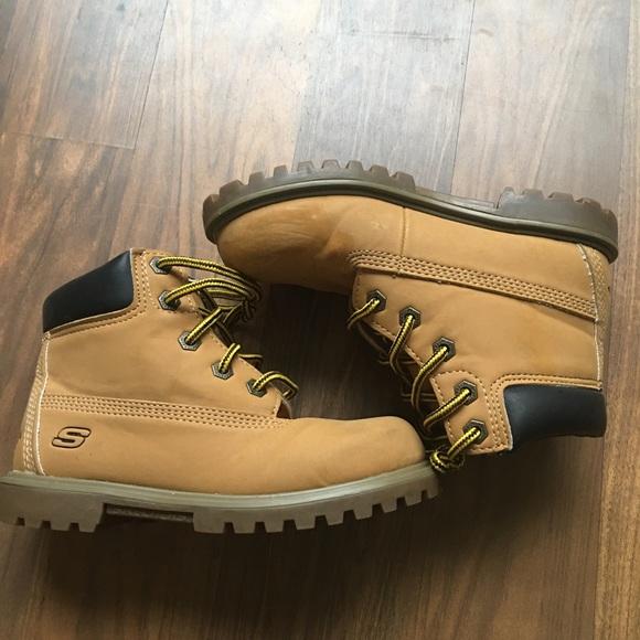 Skechers Shoes | Sketchers Boys Tan
